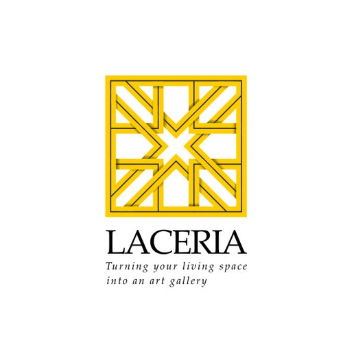 Create the brand, logo for Laceria