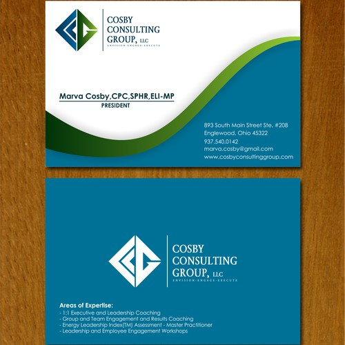 Help Cosby Consulting Group, LLC with a new logo