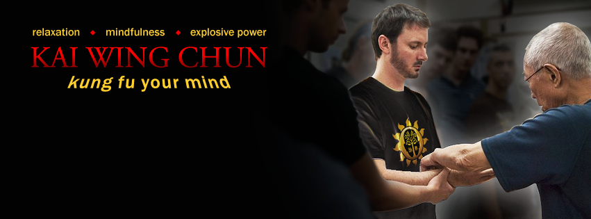 Create a compelling Facebook cover image for my Wing Chun kung fu school.