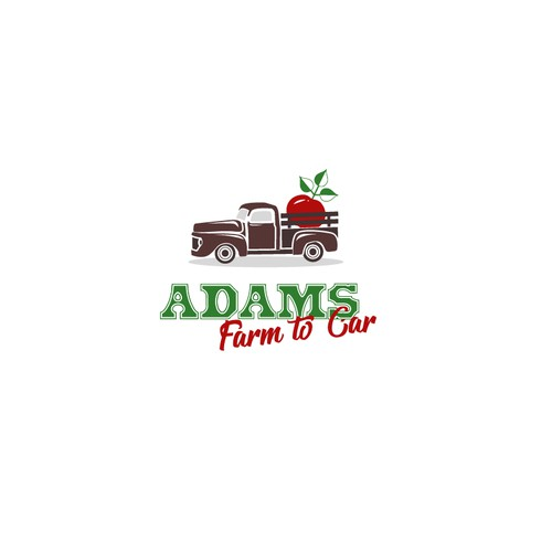 Logo for Adams farm tocar