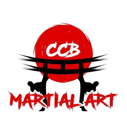 logo for martial art academy