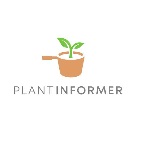 Design a Plant Decor Logo that Appeals to Women