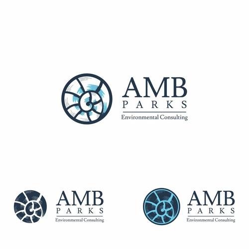 Logo concept for AMB Parks