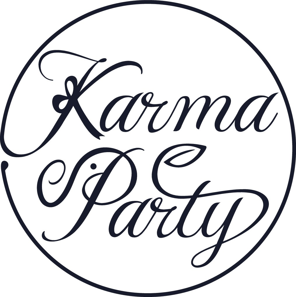 Gain good karma by designing the Karma Party logo! (Socially impactful retail parties)