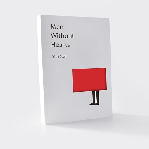 Cover Book Design, Men Without Hearts by Diron Duah