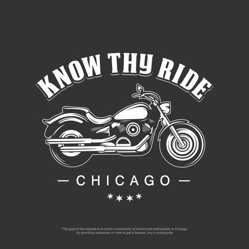 "Channel the ""Easy Rider"" and design a Motorcycle logo for a killer new website!"