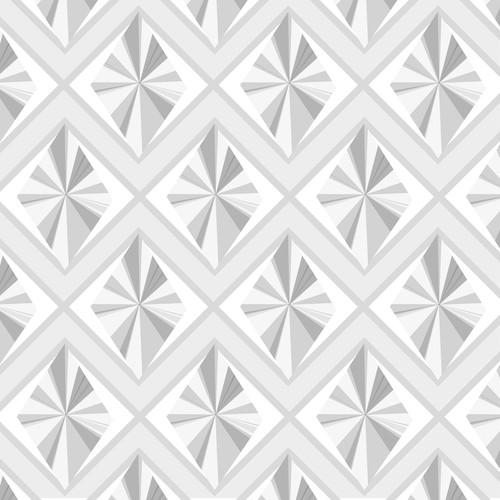diamond graphic pattern grey