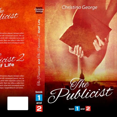 Create a Bestselling Book Cover for The Publicist: Book One and Two