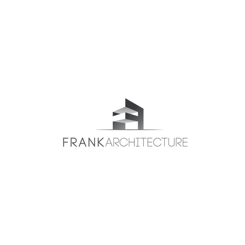 Create an aestetically pleasing Architects logo in text only or text and image