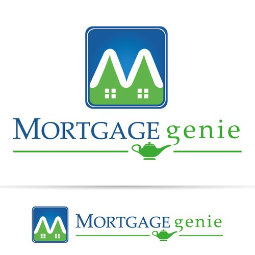 Mortgage Genie requires a creative logo to use in a campaign.