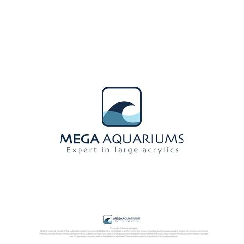aquarium logo style