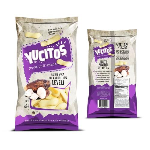 Yucitos Puff Snack