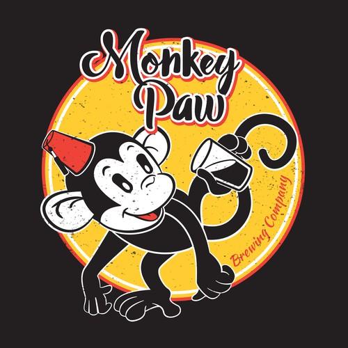 Monkey Paw vintage Anniversary design
