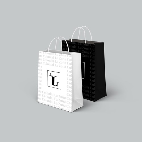 Logo display on the bags