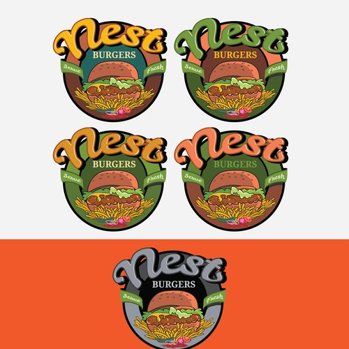 Logo for Burger