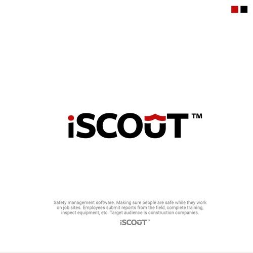 Logo design entry for iScout