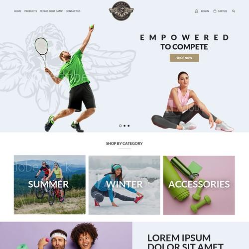 Beautiful design for sports fashion