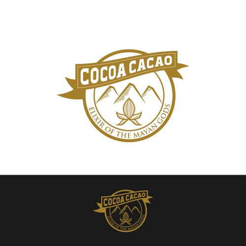 Logo for cocoa product