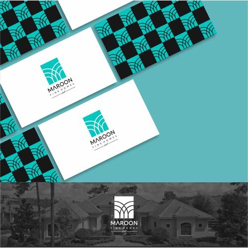 Design de Logotipo, Maronn Fine Homes