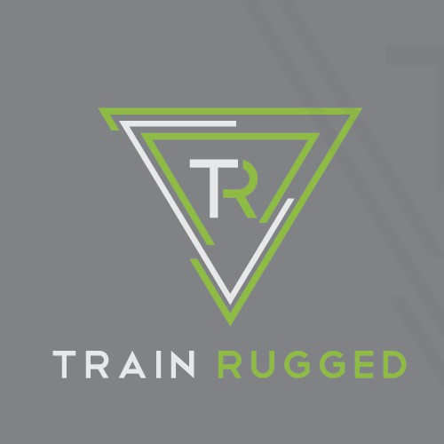 A well balanced logo for personal trainer