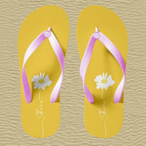 Fun Beach Flip Flops for Girls