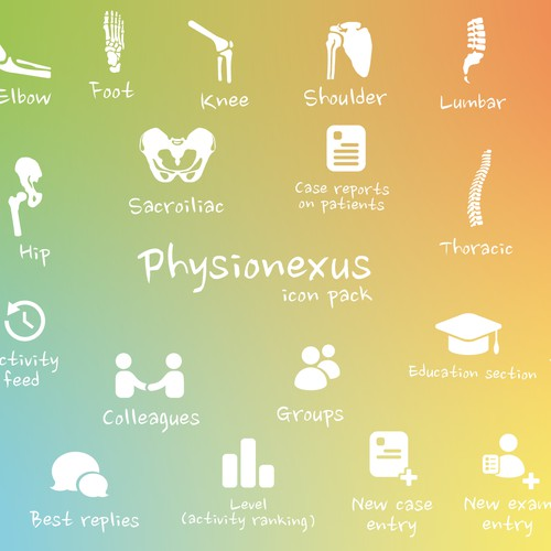 Physionexus icon pack