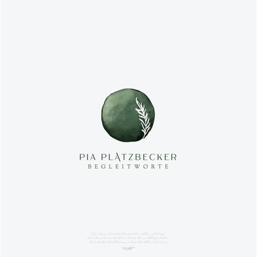 Logo for Pia Platzbecker, a free speaker
