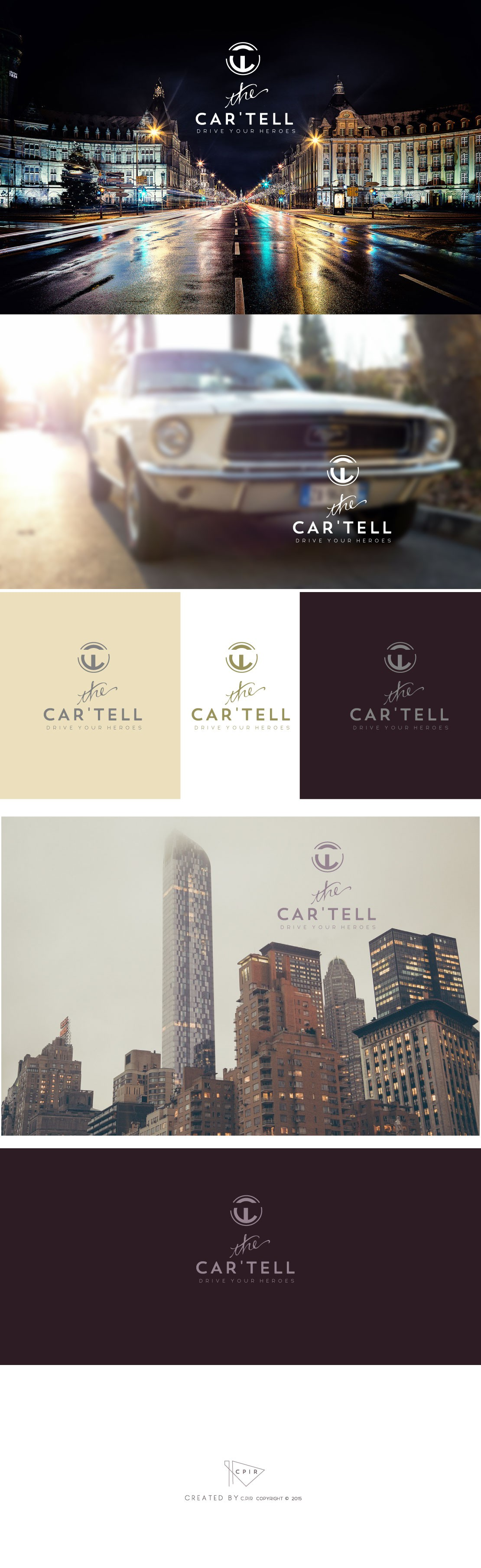 Create a great company logo for Luxembourg's finest Classic Car Club - The Car'tell