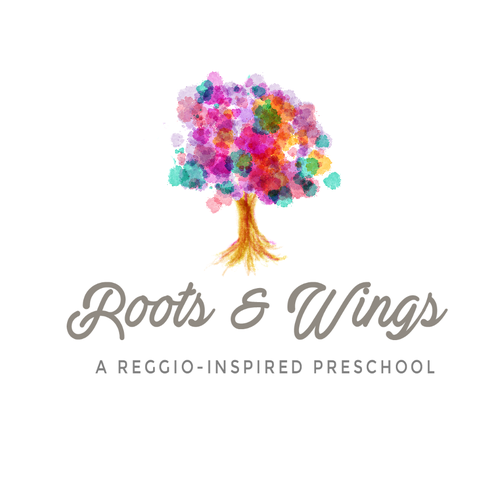 logo for a reggio inspired preschool
