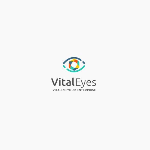 Vital Eyes logo