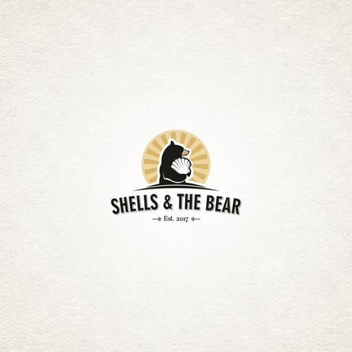Logo with a bear.