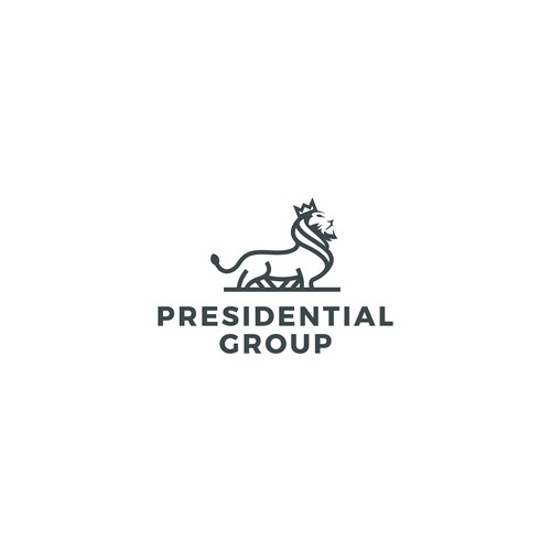 President logo for Presidential group - Construction