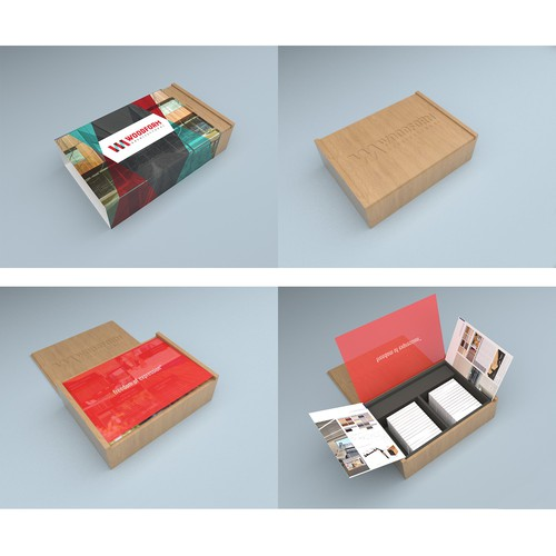Samples Box for Woodform Architectural