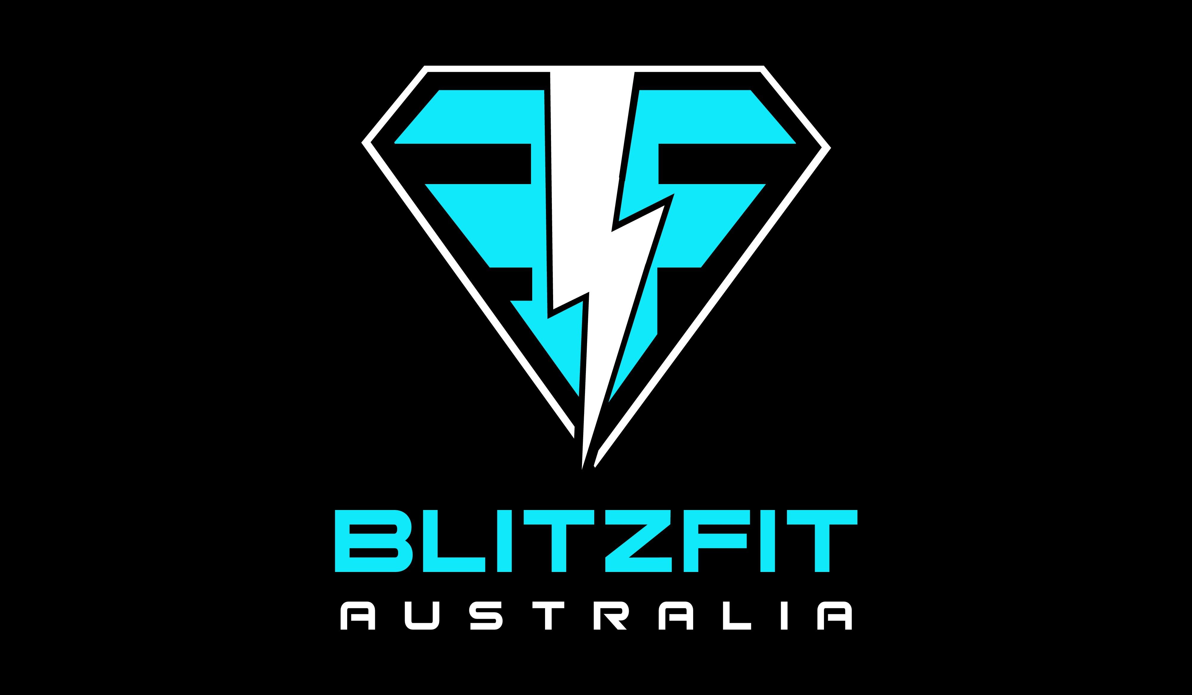 Fitness business logo for Blitz Fit Australia