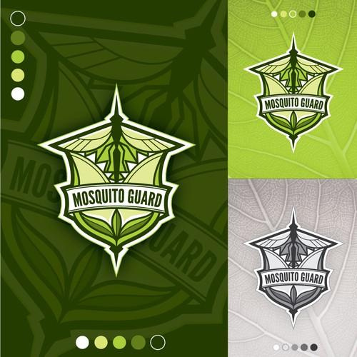 Logo concept for Musquito Guard (eco friendly mosquito control company)