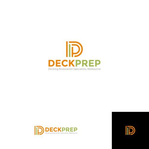 Logo concept of DECK PREP