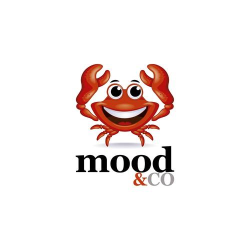 Crab mascot - character design