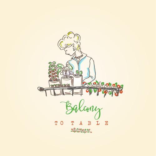 Balconyb tob tab leb logo design