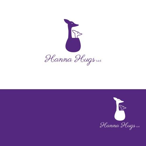 Logo concept with Kangaroo Care