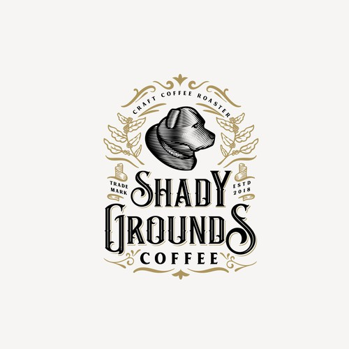 Shady Grounds Coffee logo