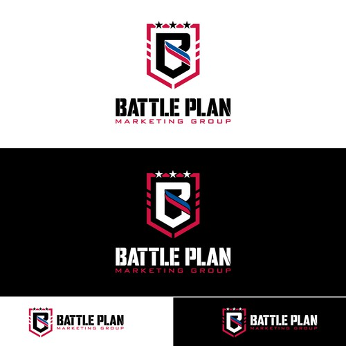 Logo design for Battle Plan Marketing Group