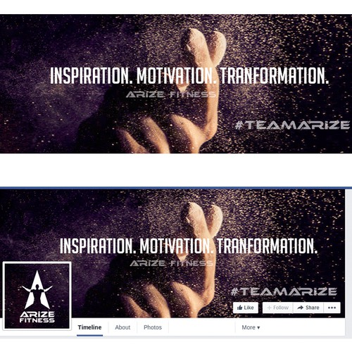 Inspiration, Motivation and Transformation. Arize Fitness
