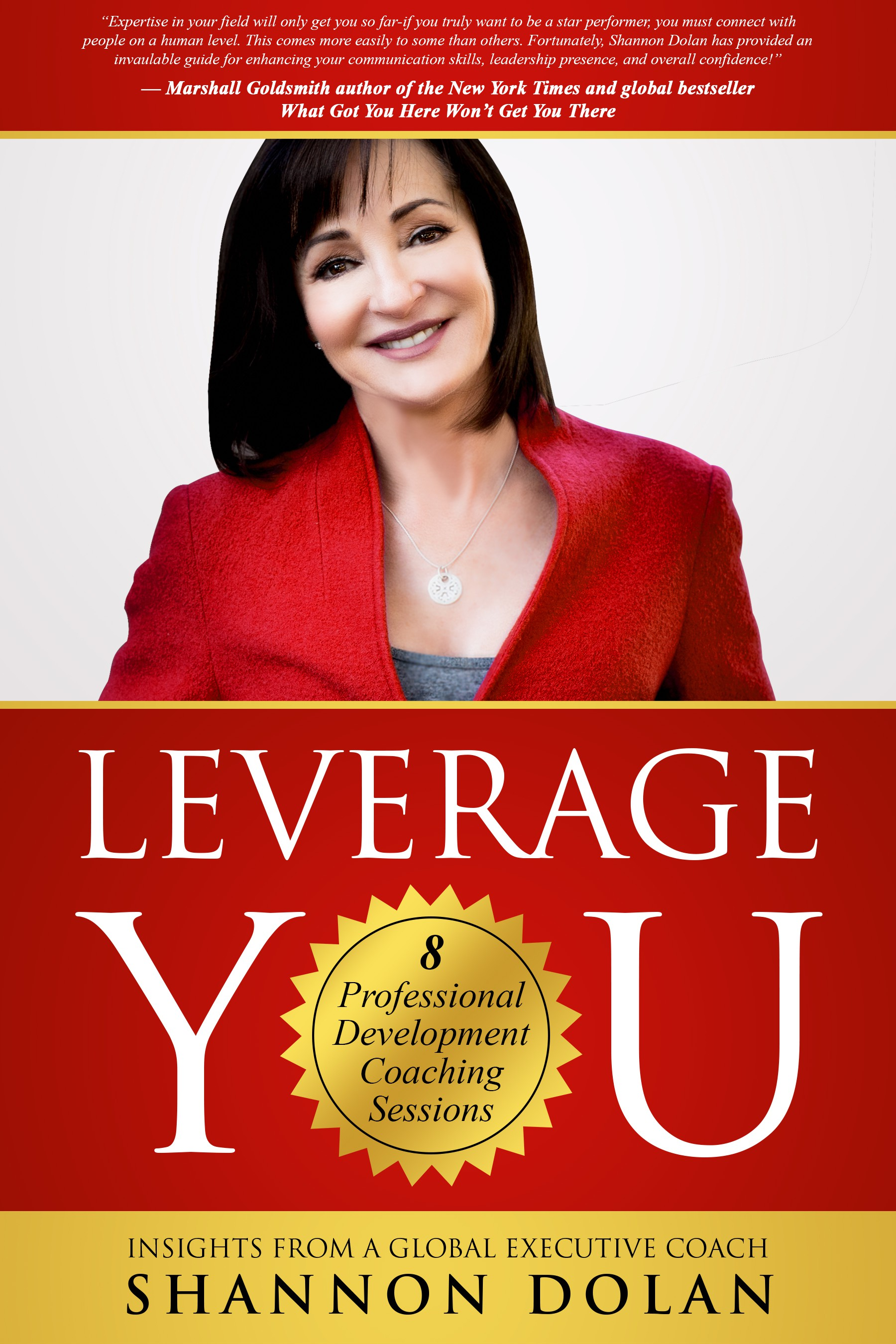 Design an executive presence coaching ebook cover that POPS for ambitious professionals