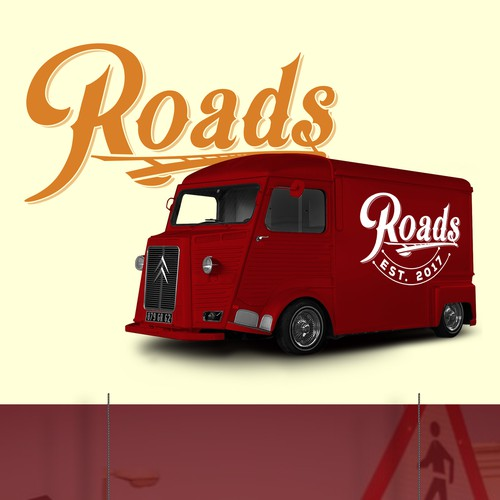 Logo design for a food truck