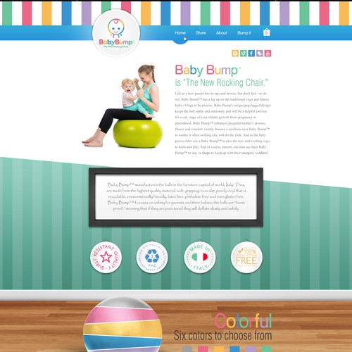 Baby Product Website