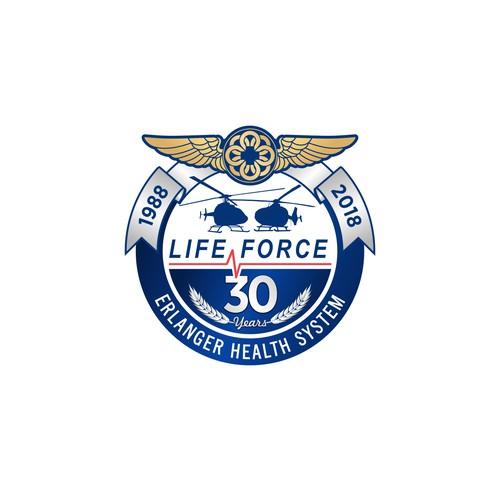 Air Medic Anniversary Emblematic Logo