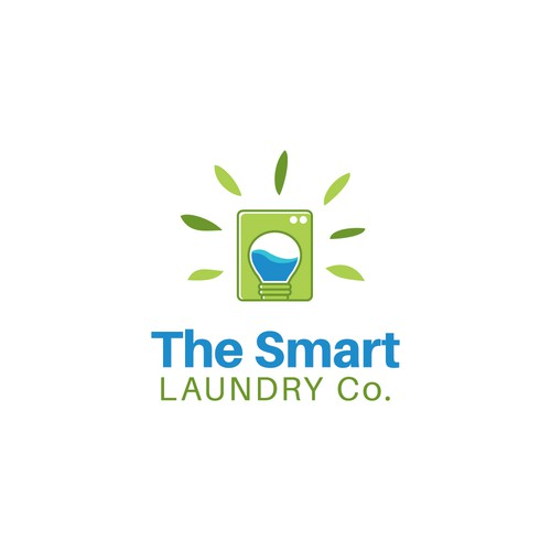 Logo Concept for The Smart Laundry Co.