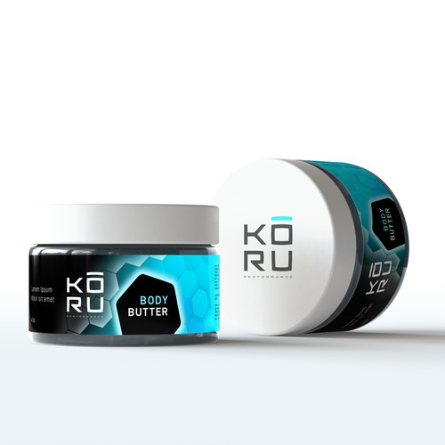 Packaging Design for Sport Body Care