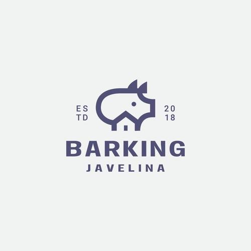 barking javelina logo