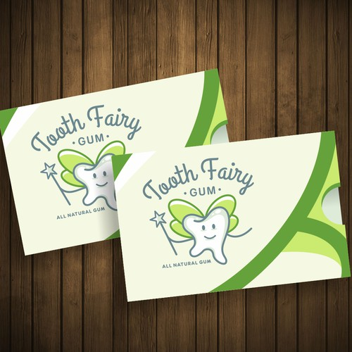 Fun concept for Tooth Fairy Gum...